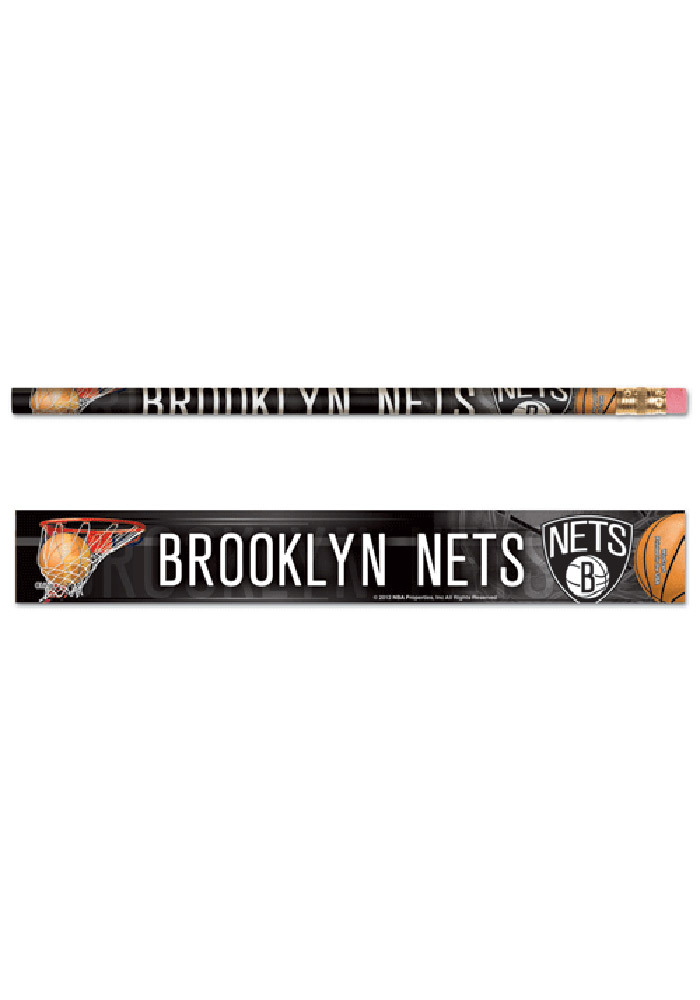 Brooklyn Nets 6 Pack Pencil - Image 1