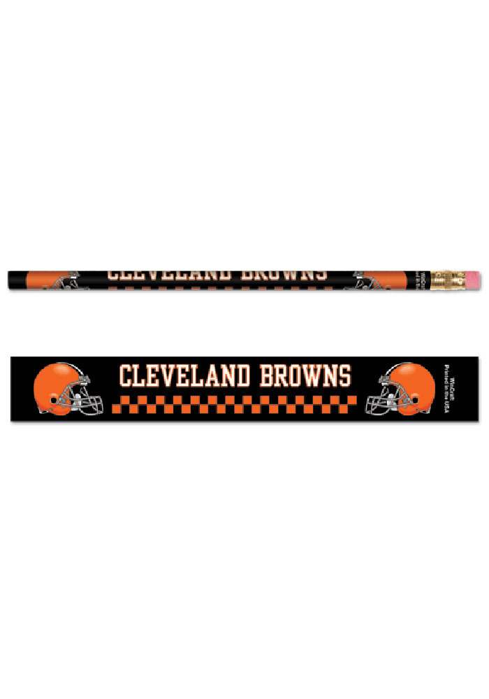 Cleveland Browns 6 Pack Pencil - Image 1