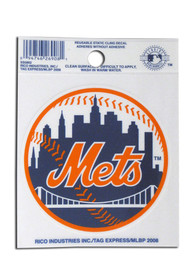 New York Mets Small Auto Static Cling