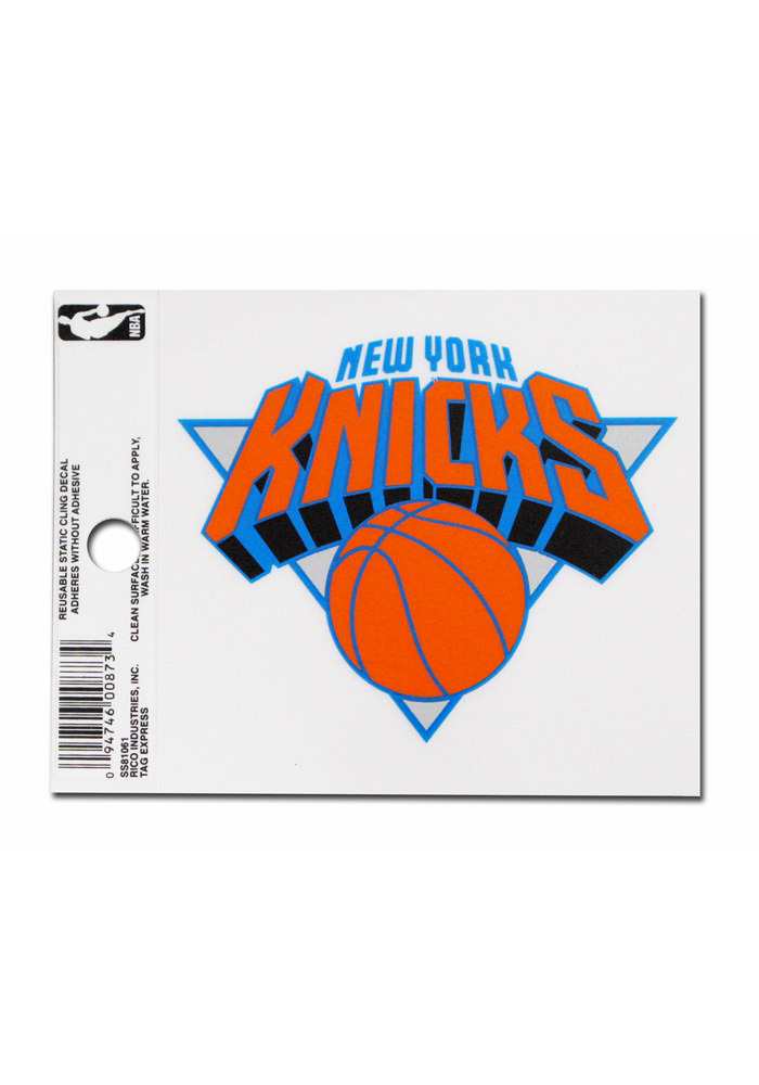 New York Knicks Small Auto Static Cling - Image 1