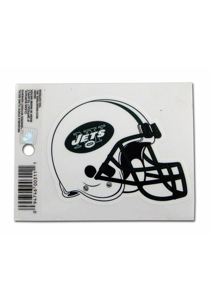 New York Jets Small Auto Static Cling - Image 1