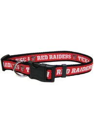 Texas Tech Red Raiders Adjustable Pet Collar