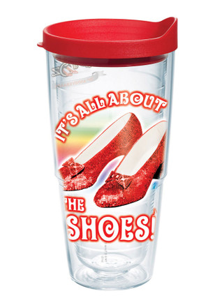Wizard of Oz ruby slipper tervis Tumbler