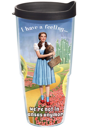 Wizard of Oz not in kansas anymore tervis Tumbler