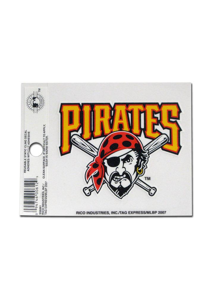 Pittsburgh Pirates Small Auto Static Cling - Image 2