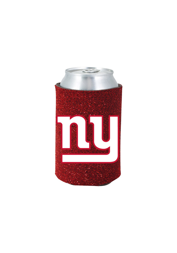 New York Giants Glitter Can Koozie - Image 1