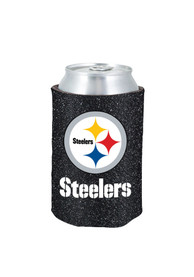 Pittsburgh Steelers Glitter Can Coolie