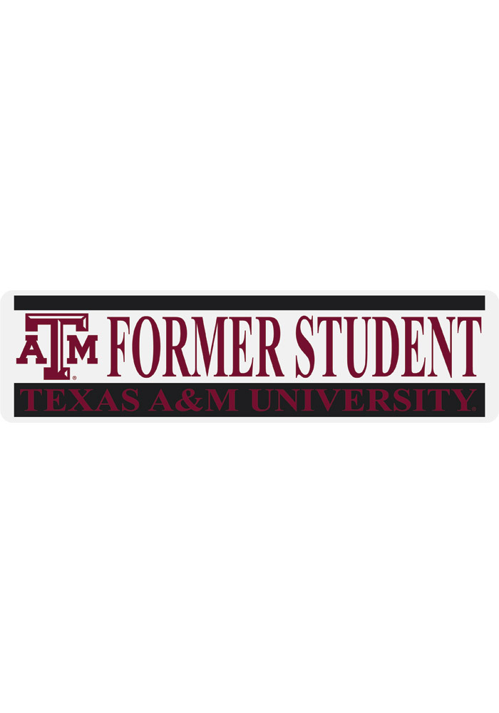 Texas am aggies 3x10 alumni decal