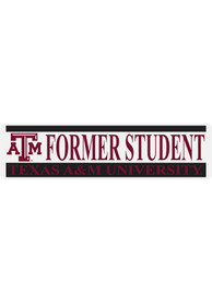 Texas A&M Aggies 3x10 Alumni Auto Decal - Maroon
