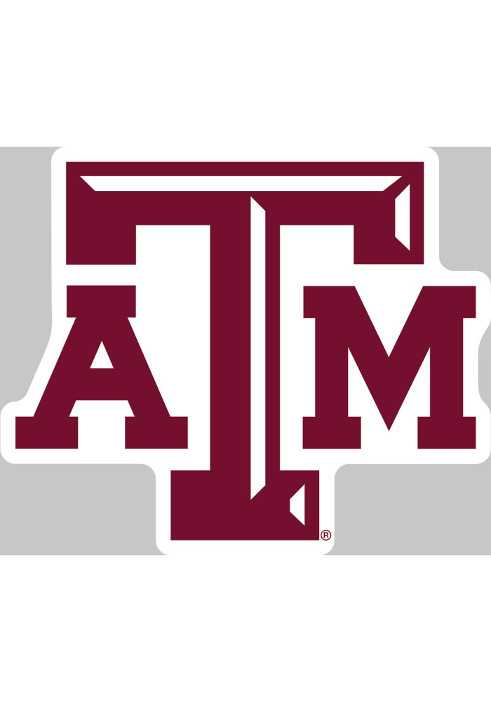Texas am aggies 4x5 logo decal