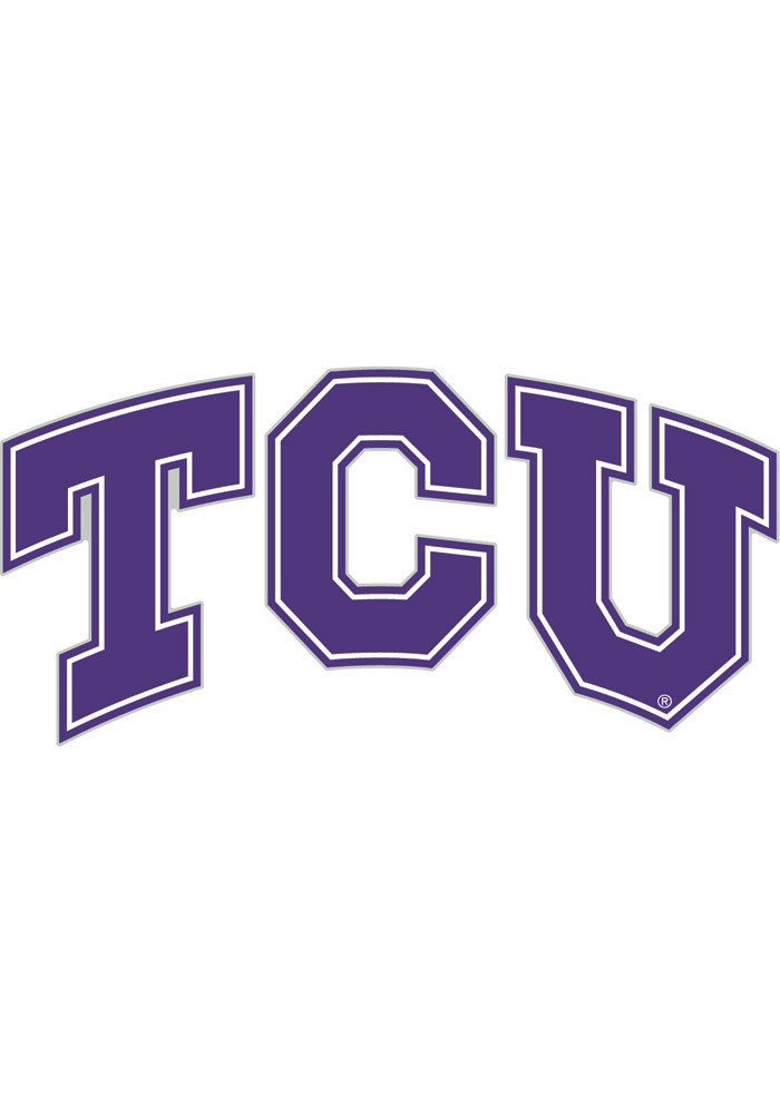 TCU Horned Frogs 4x5 Logo Decal - Image 1