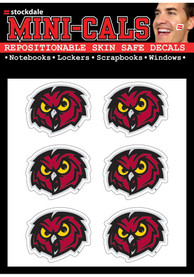 Temple Owls 6 Pack Tattoo