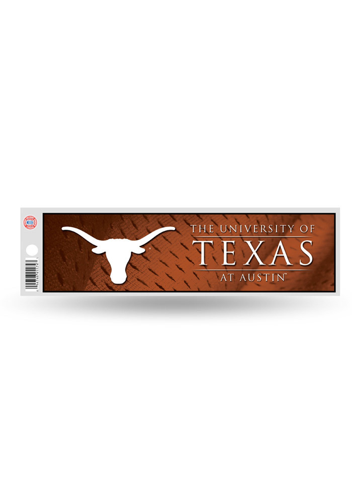 Texas Longhorns 3x11.5 Auto Bumper Sticker - Image 1