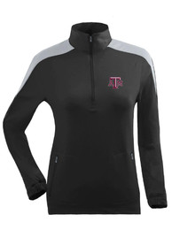 Texas A&M Aggies Womens Succeed Black 1/4 Zip Pullover