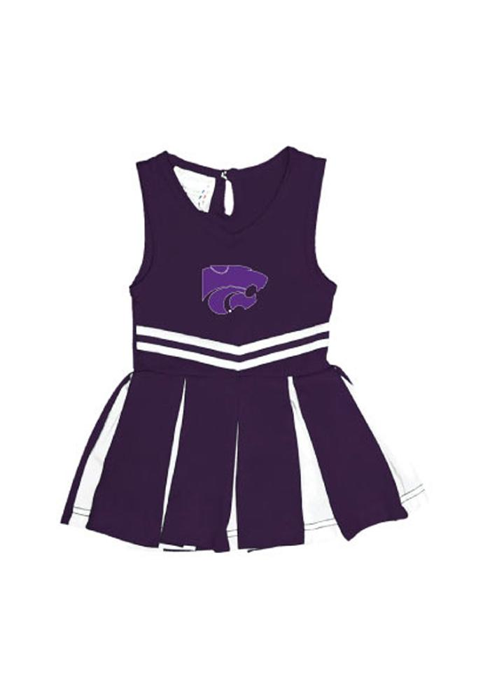 K-State Wildcats Baby Purple Logo Cheer Set Cheer - Image 1