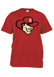 Nebraska Mens Red Big Mascot Tee