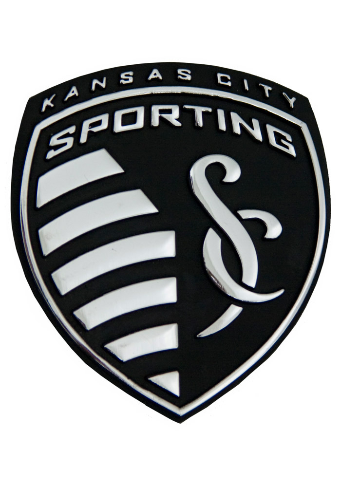 Sporting Kansas City Chrome Car Emblem - Silver