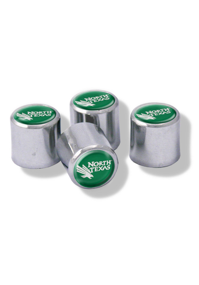 North Texas Mean Green 4 Pack Auto Accessory Valve Stem Cap - Image 1
