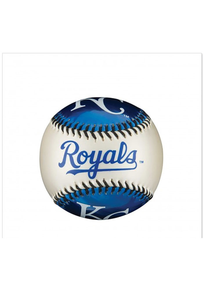 Kansas City Royals City Themed Soft Strike Baseball - Image 1