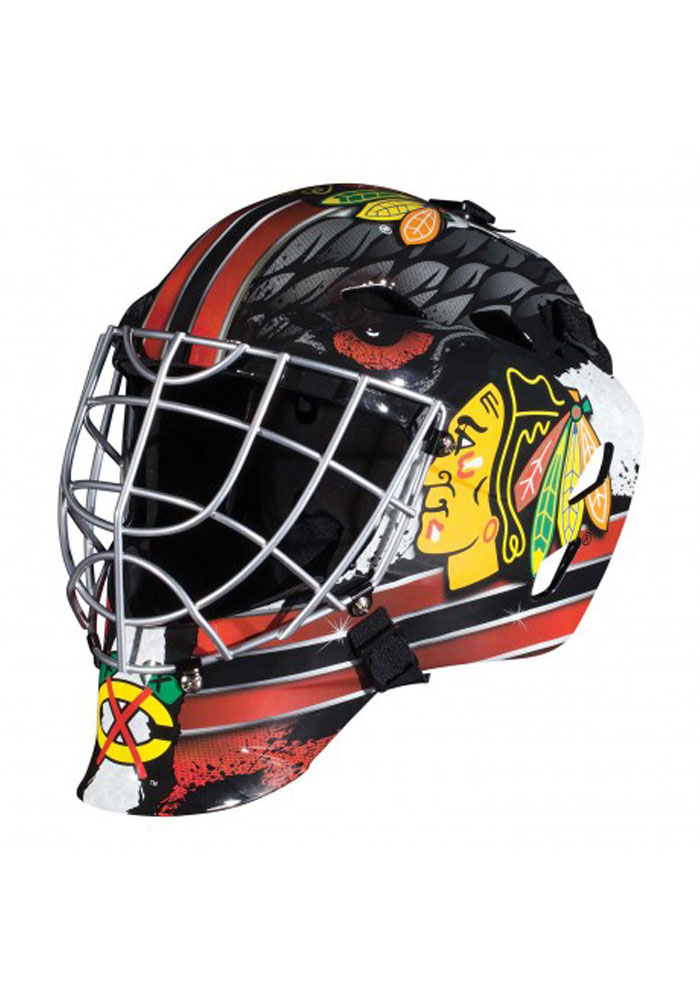 Chicago Blackhawks Goalie Mini Helmet - Image 1