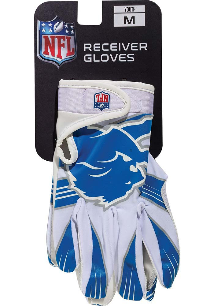 Detroit Lions Receiver Youth Gloves - Image 1