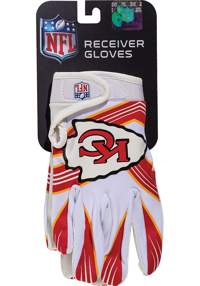 Kansas City Chiefs Receiver Youth Gloves - Image 1
