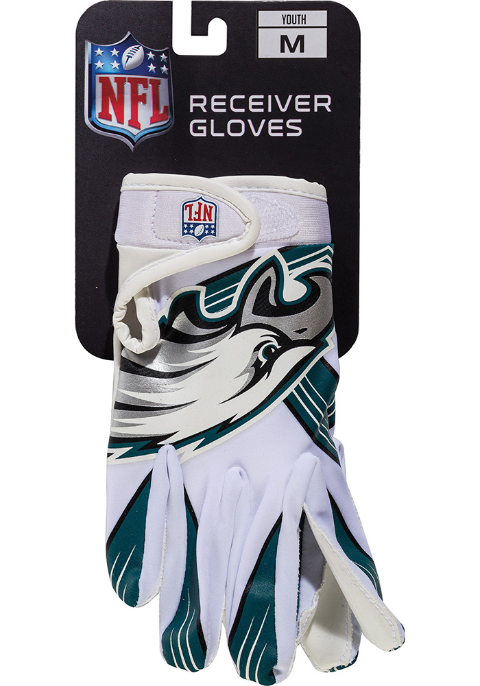 Philadelphia Eagles Receiver Youth Gloves - Image 1