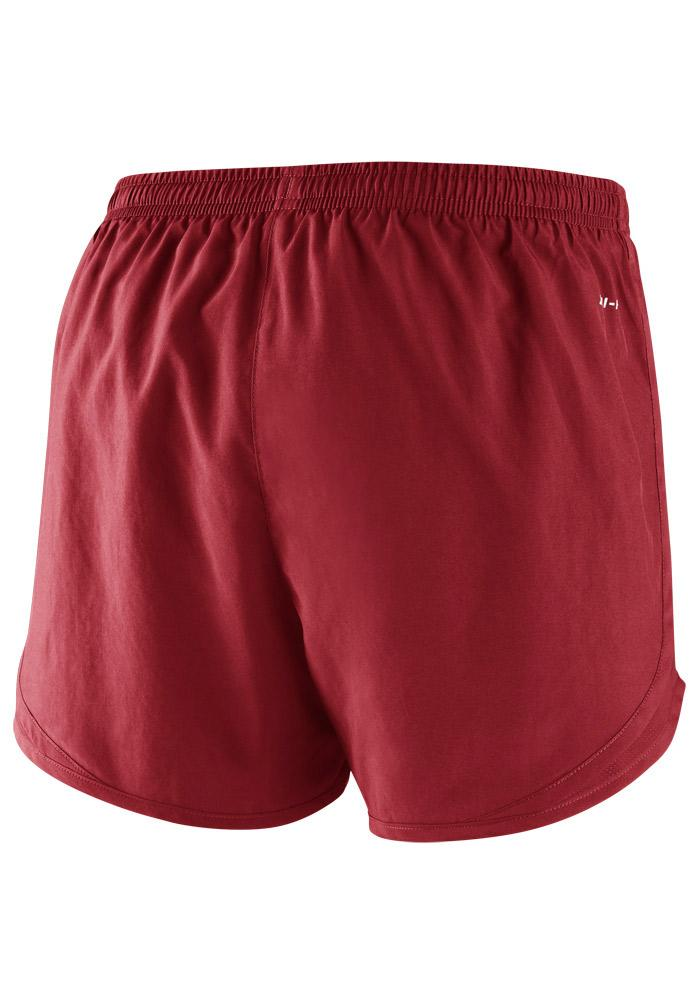 Nike Boston Red Sox Womens Red Dri-Fit Tempo Shorts - Image 3
