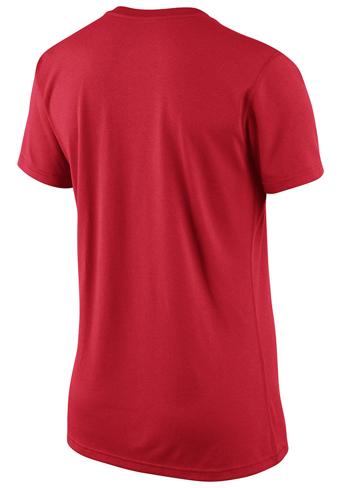 Nike Boston Red Sox Womens Red Dri-Fit Legend T-Shirt - Image 3