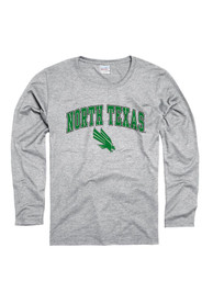 North Texas Mean Green Womens Grey Midsize Spirit Women's Crew