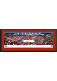 Arizona Wildcats Basketball Panorama Deluxe Framed Posters