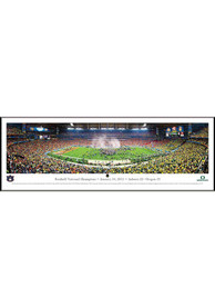 Auburn Tigers BCS 2011 Panorama Framed Posters