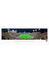 BYU Cougars End Zone Panorama Unframed Poster
