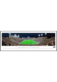 BYU Cougars End Zone Panorama Framed Posters