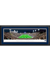 BYU Cougars End Zone Panorama Deluxe Framed Posters