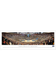 BYU Cougars Basketball Panorama Unframed Poster