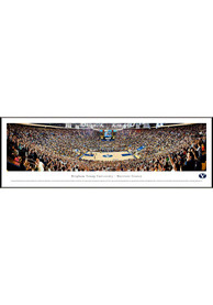 BYU Cougars Basketball Panorama Framed Posters
