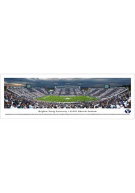 BYU Cougars Football Panorama Unframed Poster