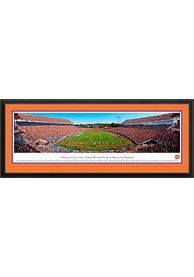 Clemson Tigers End Zone Panorama Deluxe Framed Posters