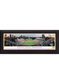 GA Tech Yellow Jackets Football Panorama Deluxe Framed Posters