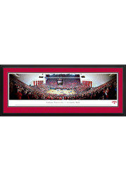 Indiana Hoosiers Basketball Panorama Deluxe Framed Posters