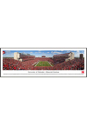 Nebraska Cornhuskers End Zone Panorama Framed Posters