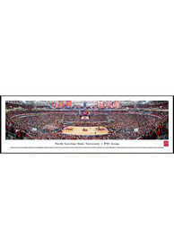 NC State Wolfpack Basketball Panorama Framed Posters