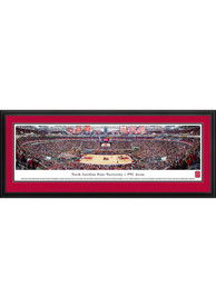 NC State Wolfpack Basketball Panorama Deluxe Framed Posters
