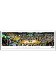 Oregon Ducks Basketball 2 Panorama Framed Posters