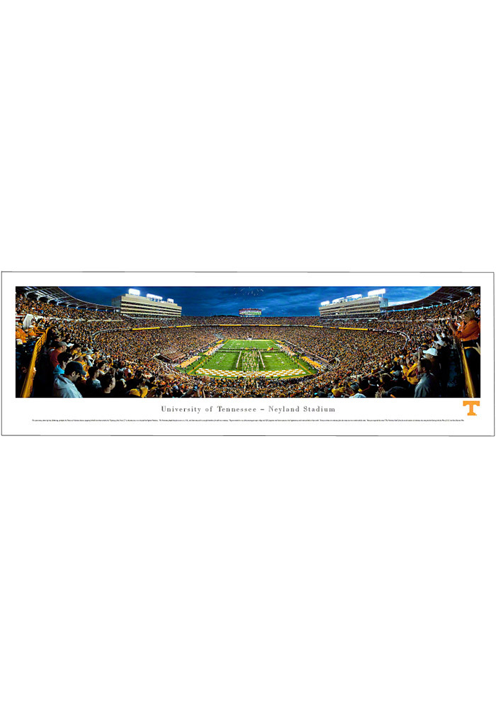 Tennessee Volunteers End Zone Panorama Unframed Poster