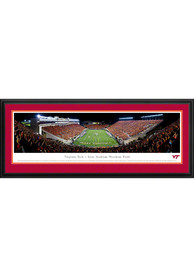 Virginia Tech Hokies End Zone Panorama Deluxe Framed Posters