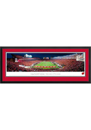 Wisconsin Badgers End Zone Panorama Deluxe Framed Posters