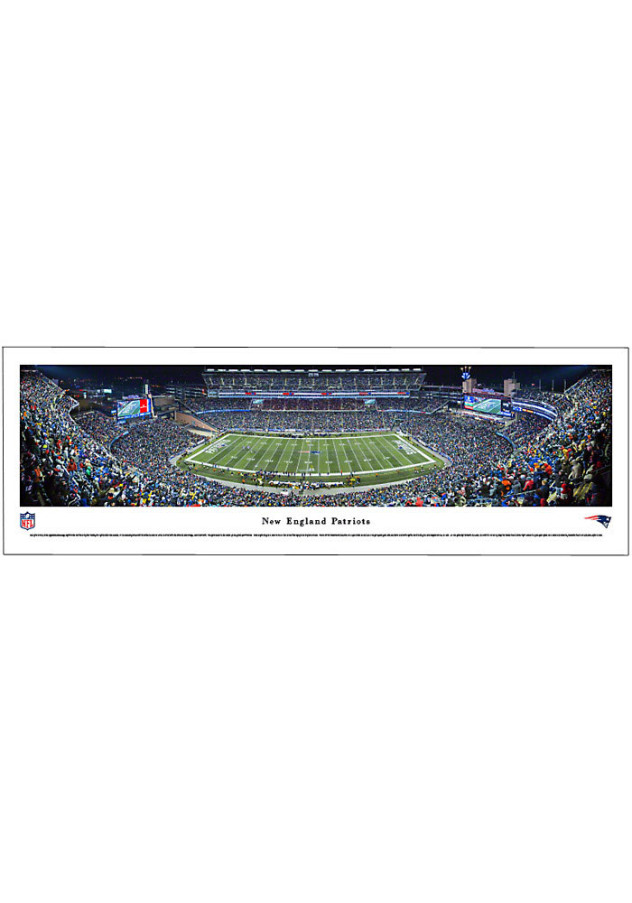 New England Patriots Panorama Unframed Poster - Image 1