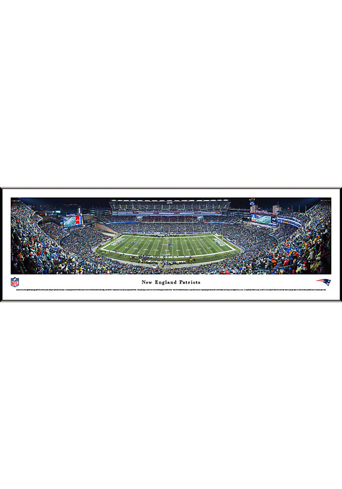 New England Patriots Panorama Framed Posters - Image 1